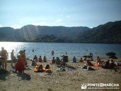 Lago de Sanabria - Playa lago de Sanabria; sierra del guadarrama